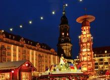 bożych narodzeń Dresden rynek Obraz Stock
