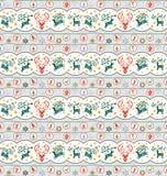 bożych narodzeń kolekci wzór royalty ilustracja