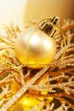 bożych narodzeń kolorów dekoracje złociste Fotografia Royalty Free