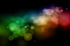bożych narodzeń koloru światła Zdjęcie Royalty Free
