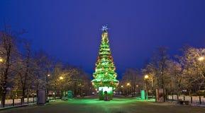 bożych narodzeń Moscow drzewo Obraz Royalty Free