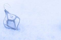 bożych narodzeń ornamentu śnieg zdjęcia royalty free