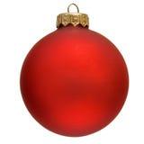 bożych narodzeń ornamentu czerwień Fotografia Royalty Free