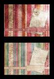 bożych narodzeń pocztówki drzewo Obrazy Stock