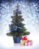 bożych narodzeń prezentów ilustracyjny drzewa wektor obraz royalty free