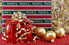 bożych narodzeń prezentów ornamenty Fotografia Stock