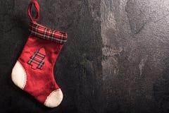 bożych narodzeń prezenta ilustracyjny czerwony skarpety wektoru biel Obraz Stock