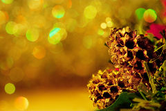 bożych narodzeń rożków dekoracja Zdjęcie Stock
