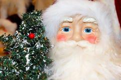 bożych narodzeń Santa drzewo Zdjęcia Stock