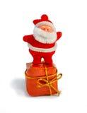 bożych narodzeń Santa zabawka Fotografia Royalty Free
