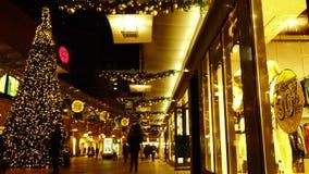bożych narodzeń target1100_1_ czarny Piątek Bożenarodzeniowy świąteczny zamazany wideo tło zdjęcie wideo