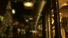 bożych narodzeń target1100_1_ czarny Piątek Bożenarodzeniowy świąteczny zamazany wideo tło zbiory wideo