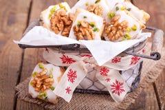 Bożych Narodzeń tradycyjni ciastka Fotografia Royalty Free