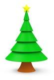 Bożych Narodzeń Tree Obraz Royalty Free