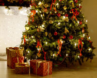 Bożych Narodzeń Tree Obraz Stock