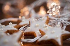 bożych narodzeń wypiekowi ciastka obraz stock