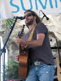 Bo Bice - Free Concert for Gulf Oil Disaster Royalty Free Stock Image