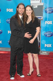 Bo Bice. And wife Caroline  at the American Idol 2008 Grand Finale. Nokia Theatre, Hollwyood, CA. 05-21-08 Stock Image