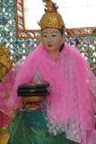 Bo Bo Gyi, nat дух попечителя Стоковое Изображение
