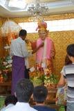 Bo Bo Gyi, nat дух попечителя Стоковая Фотография