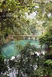 bo bridge qikong för porslinguizhou li Arkivfoto