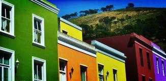 BO colorida Kaap Fotografia de Stock Royalty Free