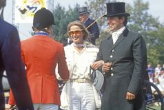 Bo Derek at American Caf� Grand Prix, Howard Community College, Columbia, Maryland Stock Photography