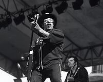 Free Bo Diddley At 1979 ChicagoFest  Royalty Free Stock Photos - 179909748