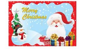 Boże Narodzenia card-07 Obrazy Royalty Free