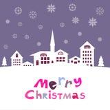 Boże Narodzenia card136 Fotografia Royalty Free