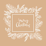 Boże Narodzenia card182 Zdjęcie Stock