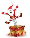 boże narodzenia Claus Santa royalty ilustracja
