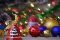 Boże Narodzenia, dekoracja, rok wakacyjny, nowy, wystrój, ozdobny Zdjęcia Royalty Free