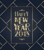 Boże Narodzenia 2018 i nowy rok ilustracja wektor