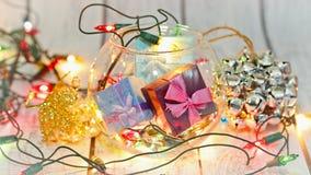 Boże Narodzenia i nowy rok alegoria obraz stock
