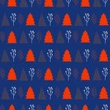 Boże Narodzenia i nowy rok deseniowi eleganccy modni kolory Zdjęcia Stock