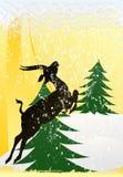 boże narodzenia jeleni Zdjęcia Stock