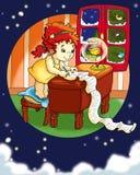 boże narodzenia listowy s ilustracja wektor