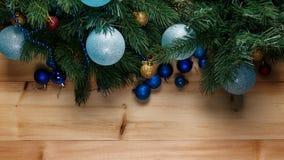 Bo?e Narodzenia lub nowy rok dekoraci t?o fotografia royalty free