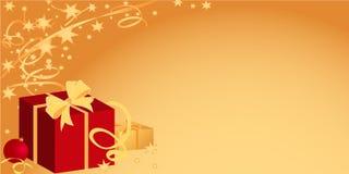 Boże Narodzenia nowy rok, Pod tekstem Ilustracja Wektor