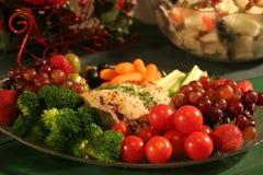 boże narodzenia obiadowi Fotografia Stock