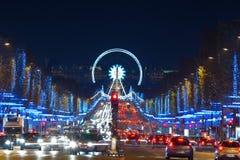 boże narodzenia Paris Obraz Royalty Free