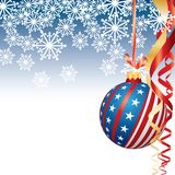 boże narodzenia patriotyczni Fotografia Stock