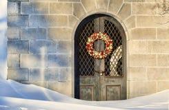 Boże Narodzenia przy mauzoleumem zdjęcie stock