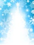 boże narodzenia snow drzewo Zdjęcia Stock