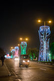 Boże Narodzenia w Lagos Obraz Royalty Free