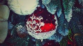 Boże Narodzenia W powietrzu Obrazy Stock