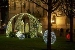 Boże Narodzenia w Praga Fotografia Stock