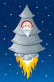 Boże Narodzenia w przestrzeni Obraz Royalty Free