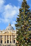 Boże Narodzenia w watykanie Fotografia Royalty Free